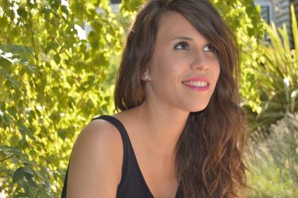Beauty Party de Fin de Verano del 13 de septiembre. Aquí estoy yo, después del taller con las chicas.