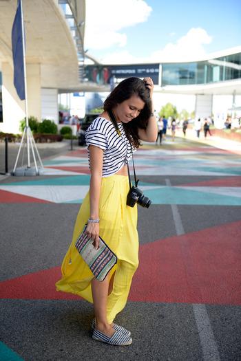 Esta última foto me la hicieron las chicas de Elle para la sección de Street Style y tengo que reconocer que me encanta.