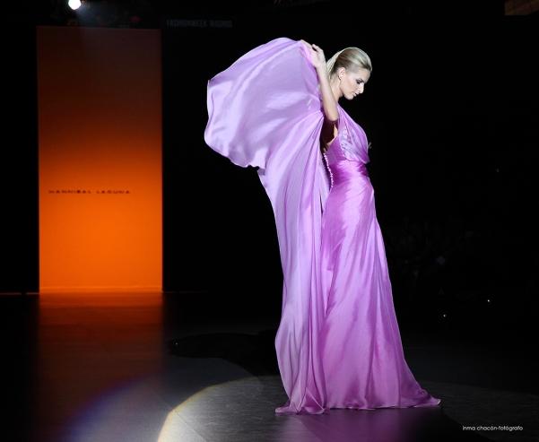 Edición Septiembre 2014 de Mercedes-Benz Fashion Week Madrid. Desfile HANNIBAL LAGUNA Colección . Fotografía de INMA CHACÓN
