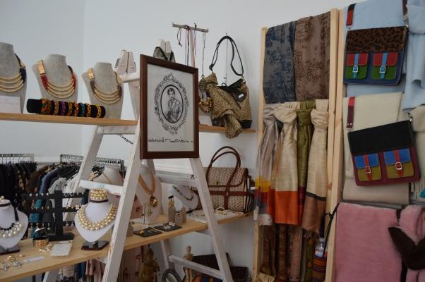 Stand de http://adorablemissfontaine.es en Puro Market, Palacio de Santa Bárbara.